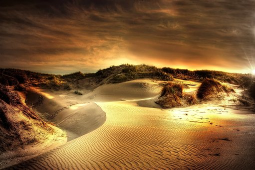 Dunes, Sea, North Sea, Beach, Sand