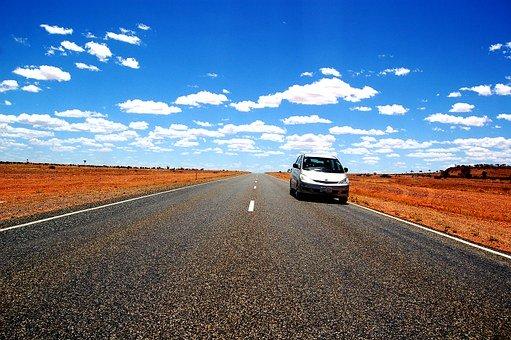 Outback, Australia, Bush, Road, Auto