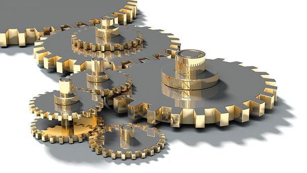 Cog Wheels, Gear, Wheel, Machine