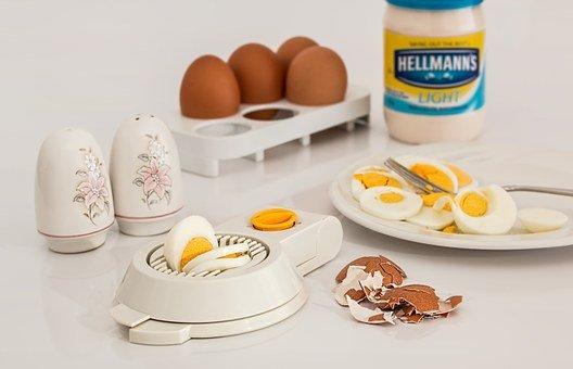 Egg Slicer, Egg, Hard Boiled, Shell