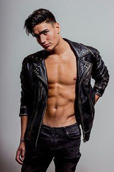 Model, Sixpack, Muscular, Man, Muscles
