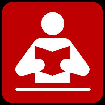 Reader, Book, Symbol, Icon, Reading
