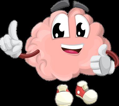 Brain, Character, Organ, Smart, Eyes