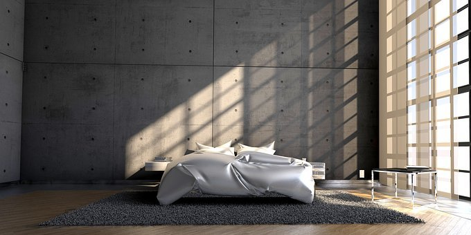 Live, Bedroom, Architecture, Modern