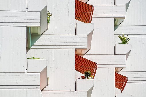 Architecture, Facade, Building, Modern