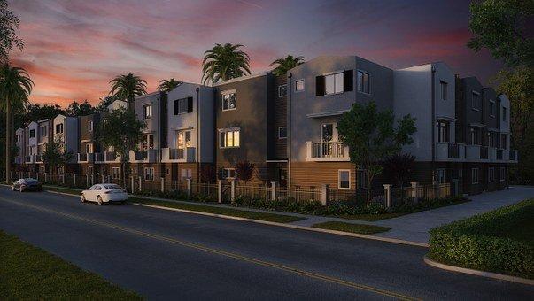 Condominium, Buildings, Exteriors