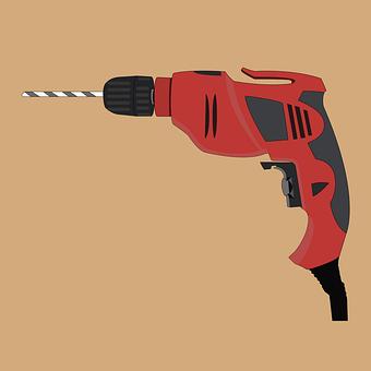 Drill, Screwdriver, Tool, Cordless Drill