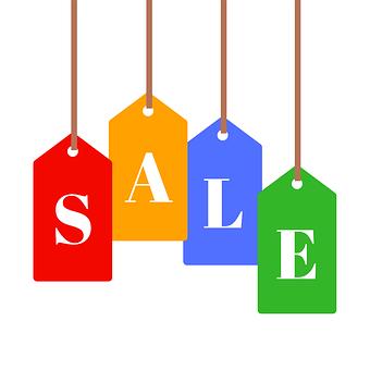 Label, Sale, Icon, Sign, Set, Business