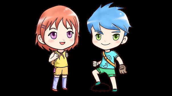 Chibi, Anime, Cute, Manga, Character
