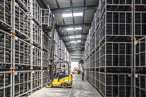 Forklift, Warehouse, Machine, Worker