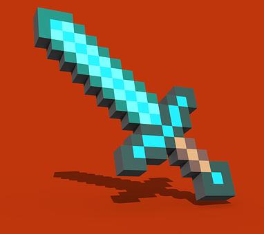 Wallpaper, Minecraft, Sword, Minecraft