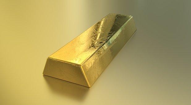 Bullion, Gold, Bar, Gold Bar, Currency